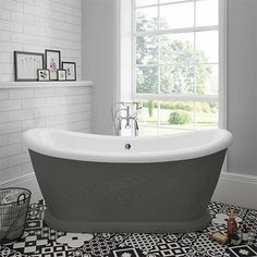 SHOP the Chatsworth 1770 Double Ended Slipper Roll Top Bath at Victorian Plumbing UK Bathroom Shop, Big Bathrooms, Bathroom Interior, Loft Bathroom, Family Bathroom, Master Bathroom, Cottage Bathrooms, Bathroom Marble, Beautiful Bathrooms