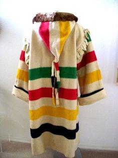 Hudson Bay Blanket 4 Point   eBay   Mountain man clothing