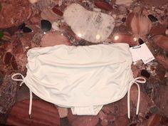 NWT $70 Calvin Klein Ivory White Skirted Tankini Bikini Swimsuit Bottom Womens S #CalvinKlein #SwimSkirt Calvin Klein Sale, Swim Skirt, Ivory White, Bikini Swimsuit, White Skirts, Tankini, Clothes For Women, Bikinis, Outerwear Women