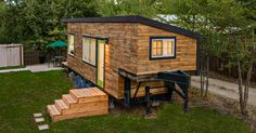 Tiny House Square Feet) built by Architect Macy Miller. Tiny House Square Feet) built by Architect Macy Miller. Tiny House Swoon, Tiny House Living, Tiny House Design, Living Room, Living Area, Building A Tiny House, Tiny House Plans, Tiny House On Wheels, Green Building