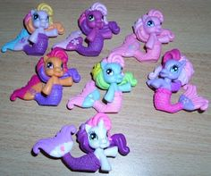My Little Pony News: New: Surprise Bag Mermaid Ponies