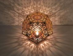 HYBYCOZO Dodecahedron Table Light Sacred Geometry #cozodesign