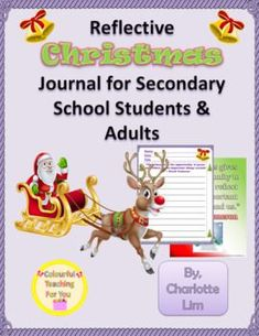 """""""Dashing through the snow in a one-horse open sleigh!"""" You English Activities, Classroom Activities, Literacy Games, Holiday Activities, Secondary Resources, Teacher Resources, School Resources, Christmas Writing Prompts, Christmas Reflections"""