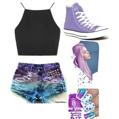 all cute by sraley on Polyvore featuring polyvore fashion style Topshop Converse
