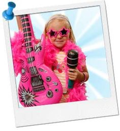 Rock Star Party Ideas | Rock and Roll Party Ideas at Birthday in a Box