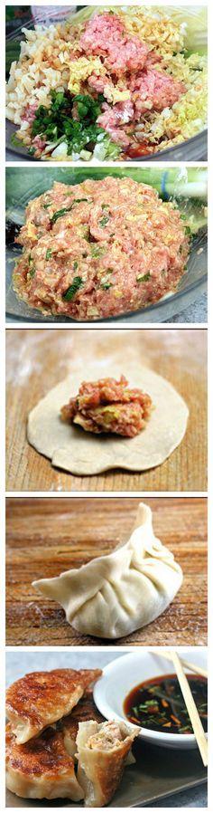 Homemade Dumplings and Potstickers   YourCookNow