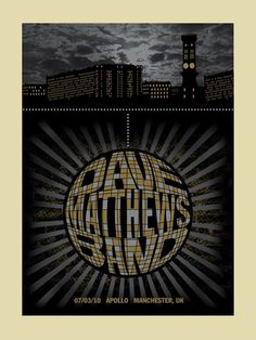 GigPosters.com - Dave Matthews Band