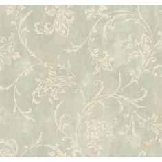 Inspired By Color Green Copper Damask Wallpaper Wallpaper Wall Decor Home Decor