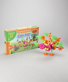 Take a look at this EZ-Toy Zany Zoo Building Set on zulily today!