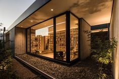 Futuristic Wooden Cladding for Exterior Walls as an Element of privacy, comfort and security ~ Art Facade ➧ Projects, materials, decor ➧ House Images Modern Exterior, Exterior Design, Dona Carolina, Wooden Cladding, Architecture Résidentielle, Exposed Concrete, Architect House, Main Entrance, Reading Room