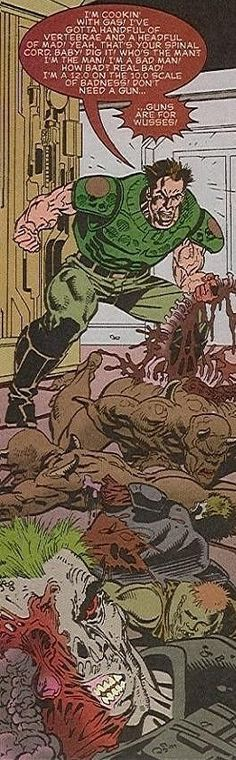 Doom Marine screenshots, images and pictures - Comic Vine
