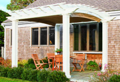 A pergola is a great addition to any outdoor space!