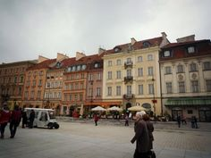 Warsaw - Walking along the Old town