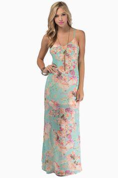 Walking On Air Maxi Dress  #tobi