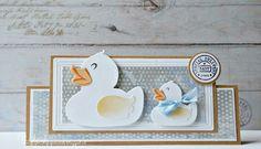 Cards made by Wybrich: Mariannne Design challenge 124 Baby Scrapbook, Scrapbook Stickers, Baby Vans, Australian Birds, Bird Cards, Marianne Design, Animal Cards, Baby Design, Card Making