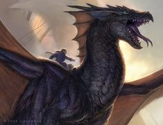Temeraire detail - His Majesty´s Dragon by Todd Lockwood
