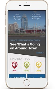 Carry downtown Cincinnati in your pocket with our new Downtown Cincinnati App for iPhone and Android (scheduled via http://www.tailwindapp.com?utm_source=pinterest&utm_medium=twpin&utm_content=post9832840&utm_campaign=scheduler_attribution)