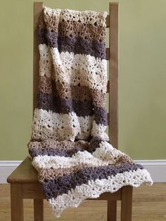 Purely Comforting Afghan Pattern (Crochet)