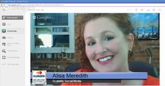 Video Tutorial on creating a lower thirds for Google+ Hangout