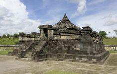 Sambisari - Hindu temple in Central Java,Indonesia. Places Worth Visiting, Places To Visit, Sanctum Sanctorum, Hindu Temple, Yogyakarta, Deities, Mount Rushmore, Tourism, World