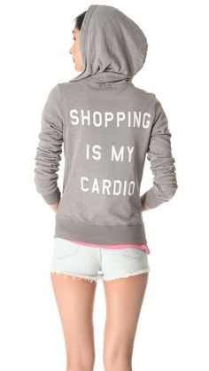 #Shopping is a #workout