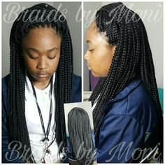 Braids by Moni  Located in Mississippi  Crochet Box Braids