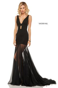 7f1e080de28 Sherri Hill Style 52606 Sherri Hill Prom Dresses