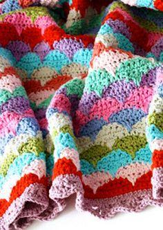 Sea to Shining Sea: 15 Ocean Themed Crochet Afghan Patterns