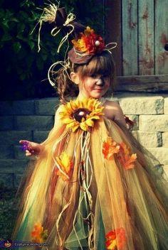 Vogelscheuchen - Kostüm.