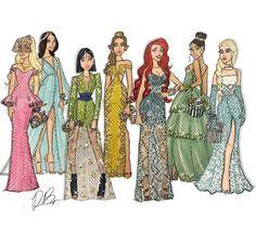 Couture Disney Princesses