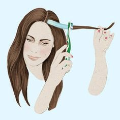 How to highlight lowlight your hair like a professional hair 6 tips for giving yourself incredible at home hair highlights solutioingenieria Gallery