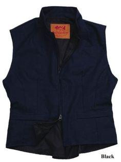 Schaefer Canvas Cheyenne Ladies Vest - Size Medium Black Schaefer Outfitters. $90.00