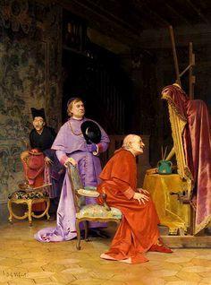 Jehan Georges Vibert (1840-1902) — (734x991)
