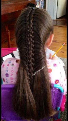 Laced Braid connected together