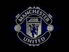 Dark Manchester United Logo Wallpaper