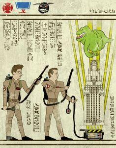 I classici del cinema come antichi geroglifici egiziani