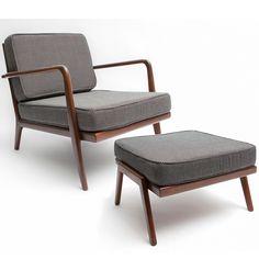 Rail Back Armchair   Mel Smilow   Smilow Furniture   SUITE NY
