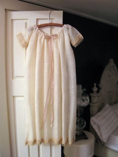 miniature nightgown by Janet Middlebrook