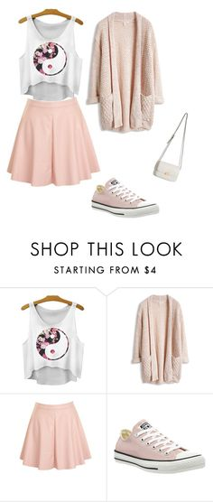 """""""Untitled #37"""" by fashionstitch ❤ liked on Polyvore featuring Glamorous and Converse"""