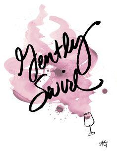 No need to rush, just gently swirl and enjoy! #wine