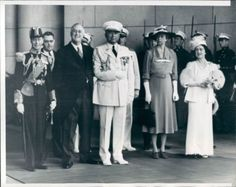 June 7-12, 1939, King George VI became the first British monarch to visit the United States.  When President Franklin Roosevelt invited England's King George VI for a visit to the United States, the significance of the invitation did not go unnoticed. No reigning British Monarch had ever set foot on American soil, not even in colonial times.