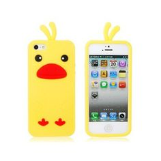 Amazon.com: Chicken Shape Silicone Protective Case for iPhone 5 (Yellow): Electronics