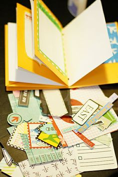 Scrapping with Liz: DIY Travel Journal - Digital Scrapbook Style