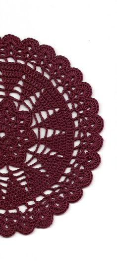 Vintage Handmade Crochet Doily Lace Lacy Doilies Wedding