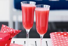 Cocktails for Spring - Cocktail Recipes - Watermelon Berry Sparkler - Click through redbookmag.com for more delicious cocktails to try this spring.