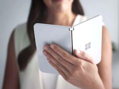 Microsoft's Surface Duo dual-screen Android phone tested by FCC and could get an early release » OnMSFT.com Windows 10, Windows Phone, Microsoft Surface, Galaxy Note, Notebooks, Smartphone, Phone Logo, Surface Laptop, User Interface