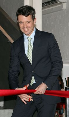 Crown Prince Frederik of Denmark visits Corporate Culture on November 23, 2011..... Such a cheeky grin! :)
