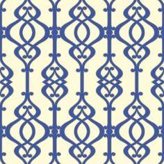 Sophie Conran Balustrade Wallcoverings Sapphire 950603