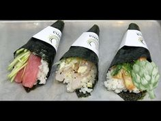 How to Make a Sushi Hand Roll | Potluck Video