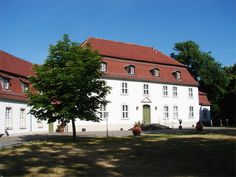 Schloss Wiepersdorf in Brandenburg (Familie von Arnim)